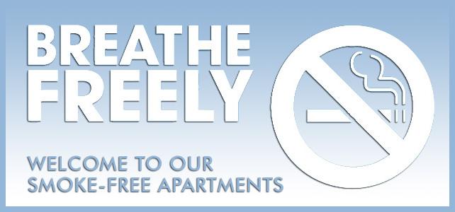 smoke free apartments